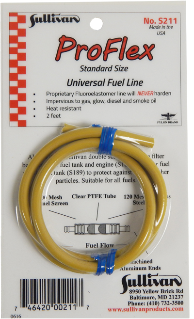 S211 - ProFlex Universal Tubing for 1/8